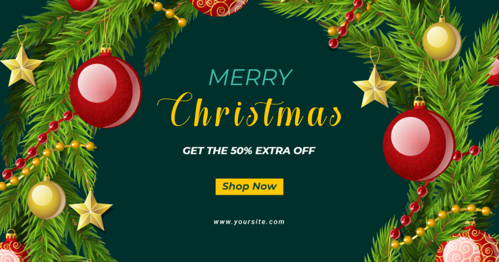 merry-christmas-for-online-facebook-ad-maker