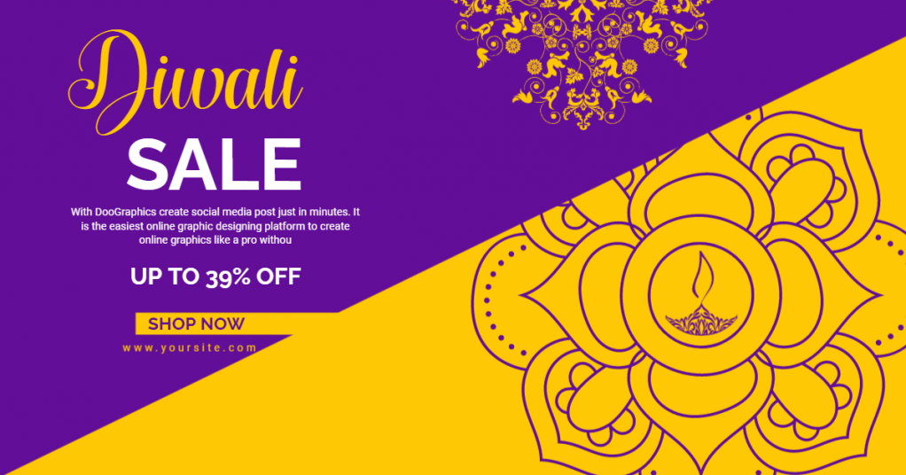 diwali-sale-for-online-facebook-maker