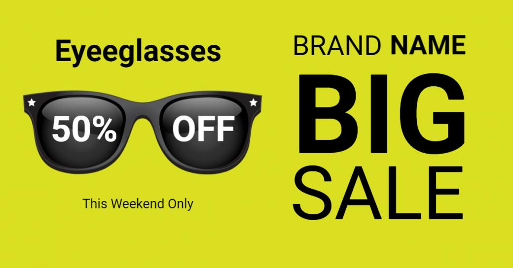 eyeglasses-sale-for-online-facebook-ad-maker